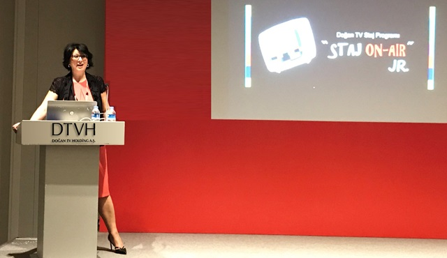 Doğan TV'nin Liselilere Özel Staj Programı Staj On-Air Jr. başladı!
