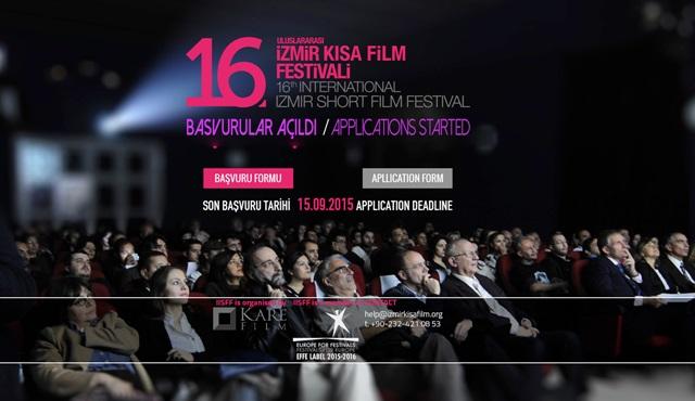 16. Uluslararası İzmir Kısa Film Festivali'nin hazırlıkları sürüyor!