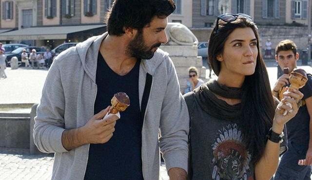 Elif ve Ömer aşıklar şehri Roma'da!