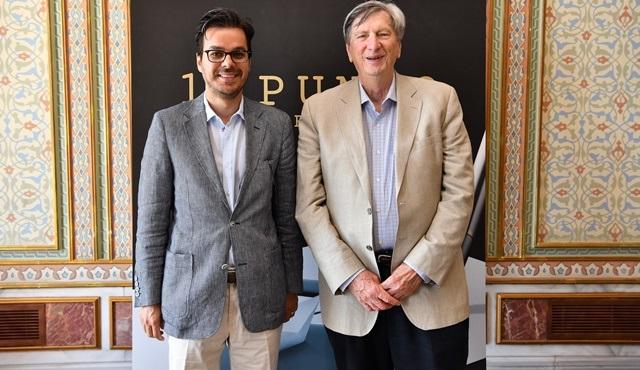 TRT Genel Müdürü İbrahim Eren ile Akademi Başkanı John Bailey bir araya geldi!