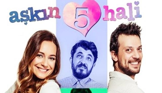 """""""Aşkın Beş Hali"""" TV'de ilk kez 3 Aralık Cumartesi, D-Smart'ta!"""