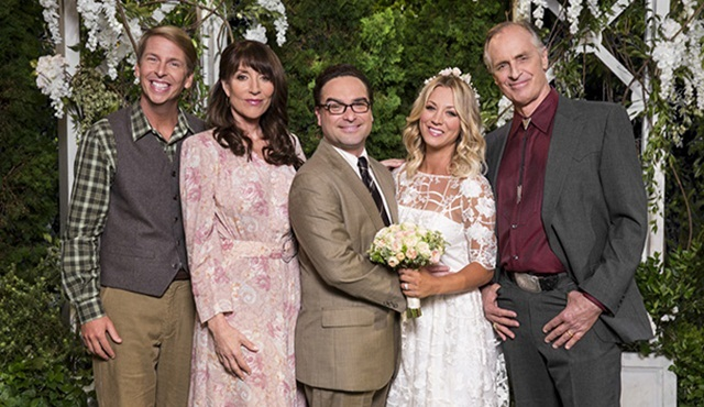 The Big Bang Theory'de Penny'nin ailesi yüzünü gösterdi