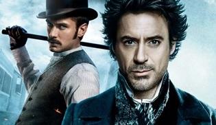 Sherlock Holmes 3 filmi şimdilik rafa kaldırıldı
