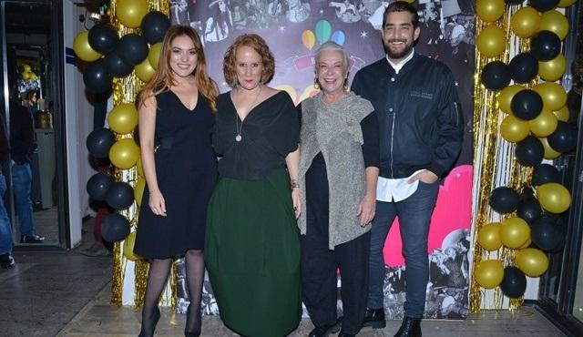 Craft Tiyatro'nun yeni yıl partisinde ünlü isimler bir araya geldi!
