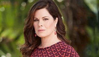 Marcia Gay Harden, National Geographic'in yeni dizisi Barkskins'in kadrosunda