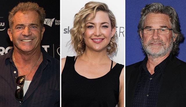 Kurt Russell, Mel Gibson ve Kate Hudson aynı dizide bir araya geliyor