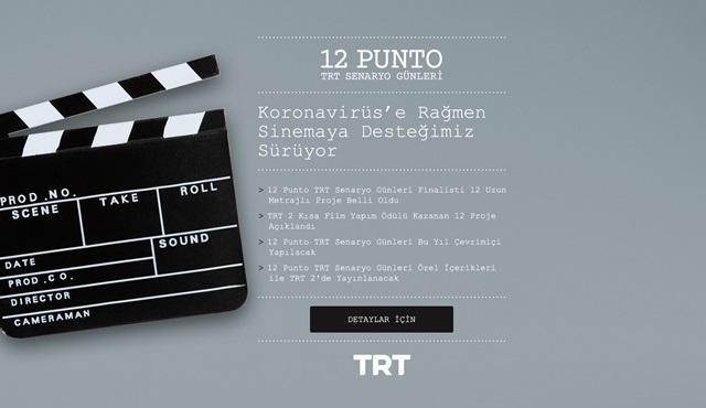 12 Punto TRT Senaryo Günleri'nin finalistleri belli oldu!