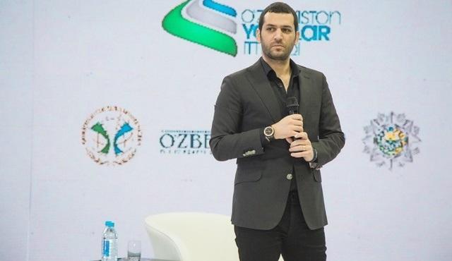 Murat Yıldırım, Özbek yönetmen Muhlisa Azizova'nın Scorpion filmine konuk oldu!