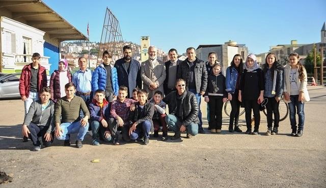 Ordu Gölköy İlçesi ve civar köylerinde yaşayan öğrenciler Payitaht Abdülhamid dizisinin setine konuk oldu!