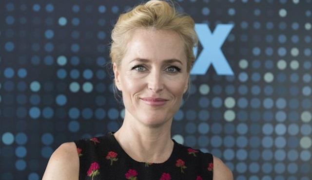 Gillian Anderson, Netflix dizisi Sex Education'ın kadrosunda