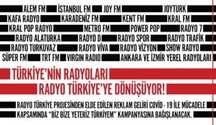 Ulusal ve yerel birçok radyo kanalı Radyo Türkiye projesinde bir araya gelerek ortak yayın yapacak!