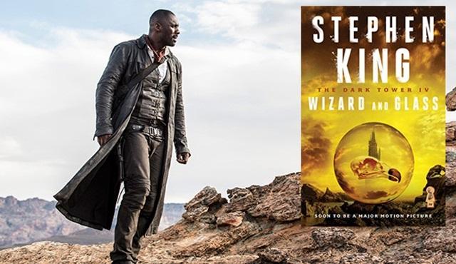 Stephen King'in Kara Kule serisinin 4. kitabı Büyücü ve Cam Küre dizi oluyor